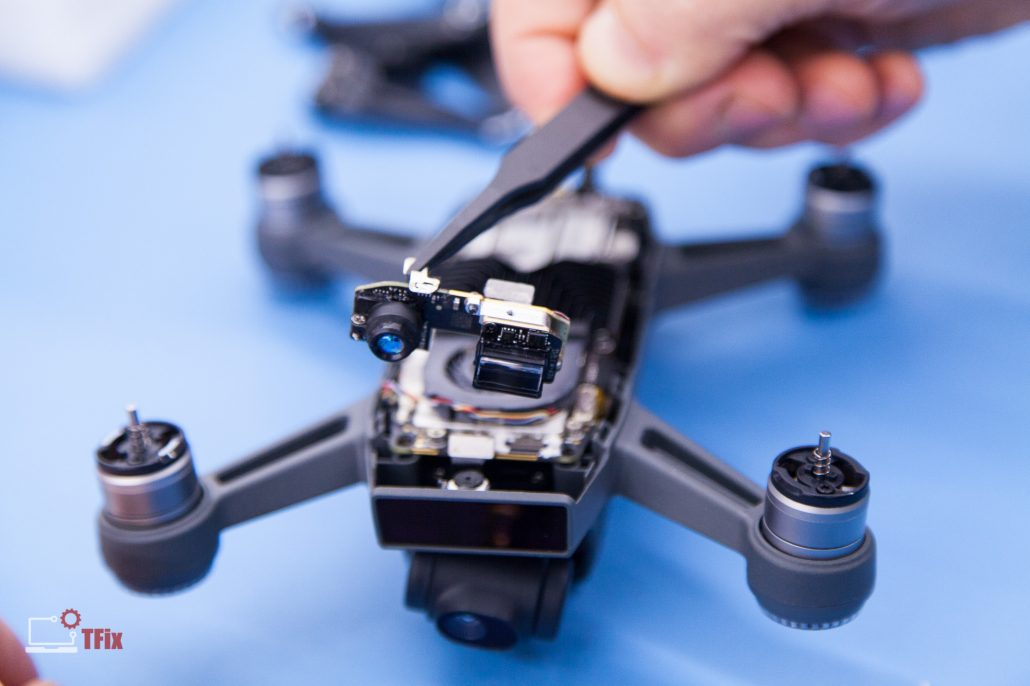 DJI-Spark-Front-Sensor-Replacement-Drone-Repair-Service-Centre-UK-1-1030x686